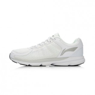 Xiaomi X Li-Ning Trich Tu Men`s Smart Running Shoes ARBK079-7-10 Size 39 White / Silver