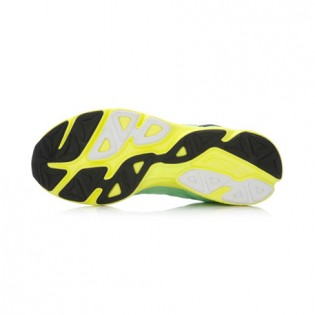 Xiaomi X Li-Ning Trich Tu Women`s Smart Running Shoes ARBK086-1-7.5 Size 36 Green / Fluorescent Yellow / Black