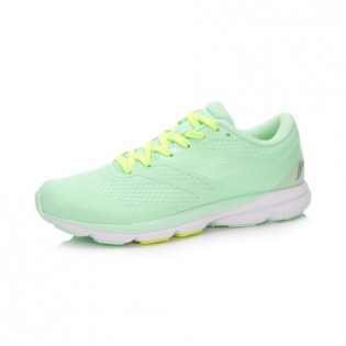Xiaomi X Li-Ning Trich Tu Women`s Smart Running Shoes ARBK086-21-4.5 Size 38 Green / Fluorescent Yellow / Gray