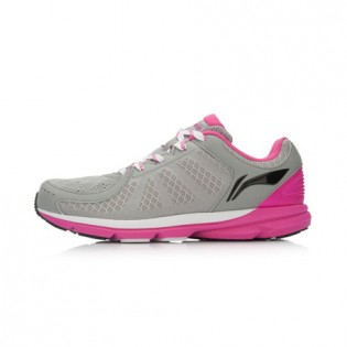 Xiaomi X Li-Ning Trich Tu Women`s Smart Running Shoes ARBK086-3-7 Size 34 Gray / Pink / Black
