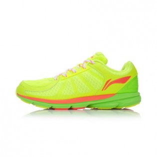 Xiaomi X Li-Ning Trich Tu Women`s Smart Running Shoes ARBK086-5-7 Size 37 Fluorescent Yellow / Fluorescent Green / Orange
