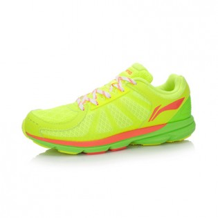 Xiaomi X Li-Ning Trich Tu Women`s Smart Running Shoes ARBK086-5-7 Size 35 Fluorescent Yellow / Fluorescent Green / Orange