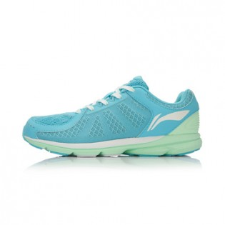 Xiaomi X Li-Ning Trich Tu Women`s Smart Running Shoes ARBK086-6-7 Size 34 Blue / Green / White