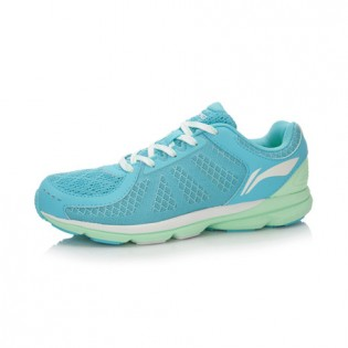 Xiaomi X Li-Ning Trich Tu Women`s Smart Running Shoes ARBK086-6-7 Size 37.5 Blue / Green / White