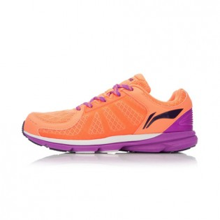 Xiaomi X Li-Ning Trich Tu Women`s Smart Running Shoes ARBK086-8-9 Size 39 Orange / Purple / Black