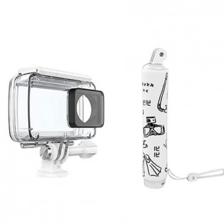 Yi 4K Action Camera 2 Waterproof Case + Floating Grip