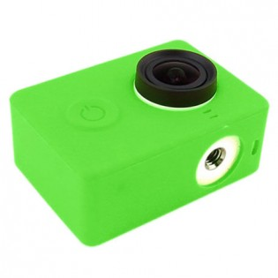 Xiaomi Yi Action Camera Silicone Protective Case Green