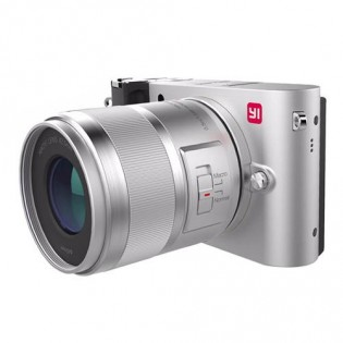 Xiaomi Yi M1 Mirrorless Digital Camera Prime Lens Chinese Version Silver