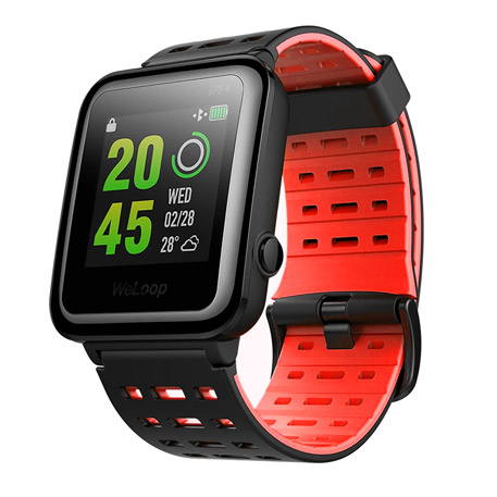 Wholesale Weloop Hey 3s Gps Smartwatch Red Price At Nis