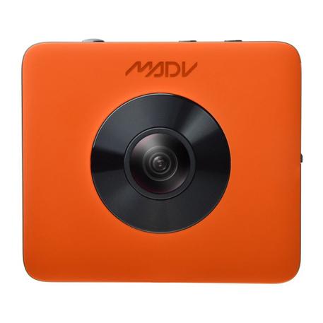 Wholesale Madv 360 176 Sphere Panoramic Camera Kit Orange