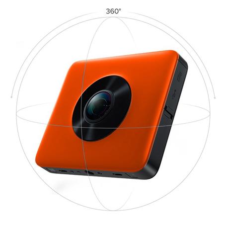 Wholesale Madv 360 176 Sphere Panoramic Camera Kit Orange Price At Nis Store Com