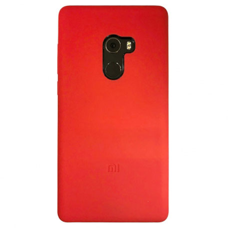 on sale 35e2d 40bb6 Wholesale Xiaomi Mi MIX 2 Silicone Protective Case Red price at NIS ...