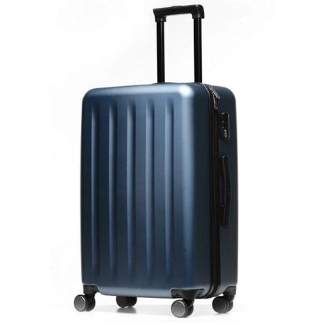 Wholesale Runmi Trolley 90 Points Suitcase 24 Quot Blue Aurora