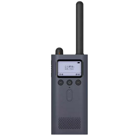 Wholesale Mijia Portable Walkie Talkie Two Way Radio Black