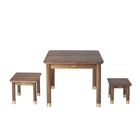Groovy Wholesale Tongshifu Small Table And Stool Set Black Walnut Gmtry Best Dining Table And Chair Ideas Images Gmtryco