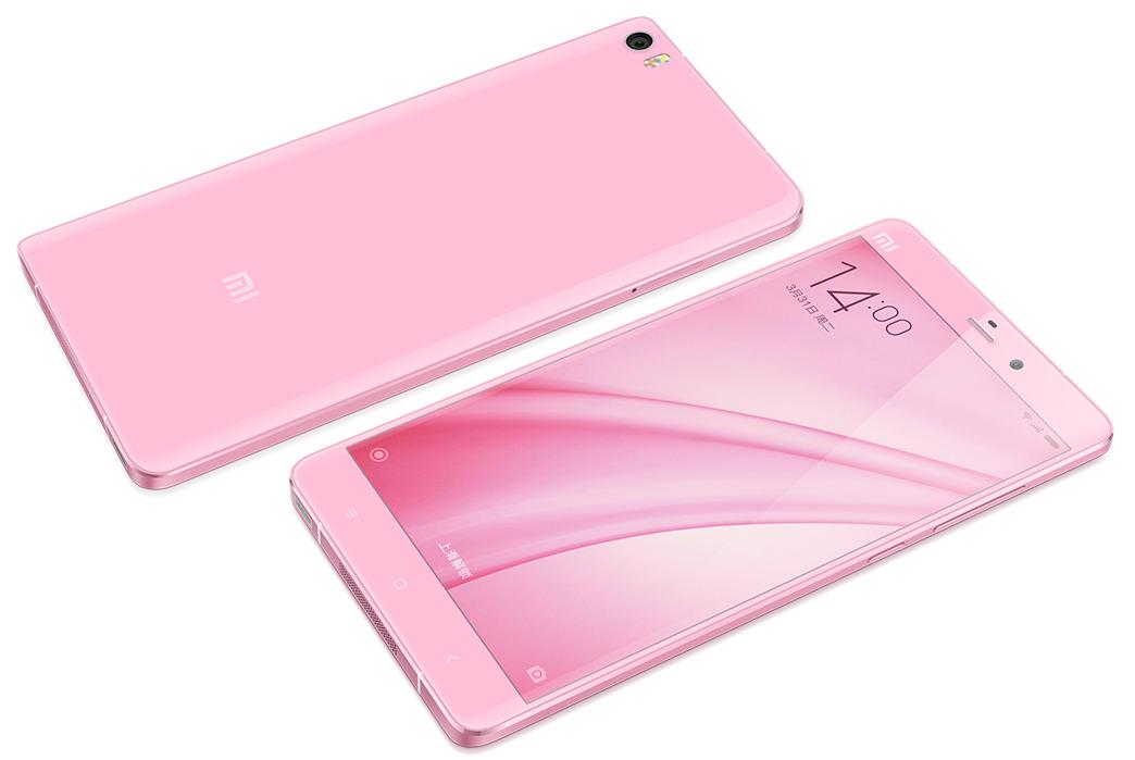Buy Smartphone MI Note 16GB Goddess Pink Online Price