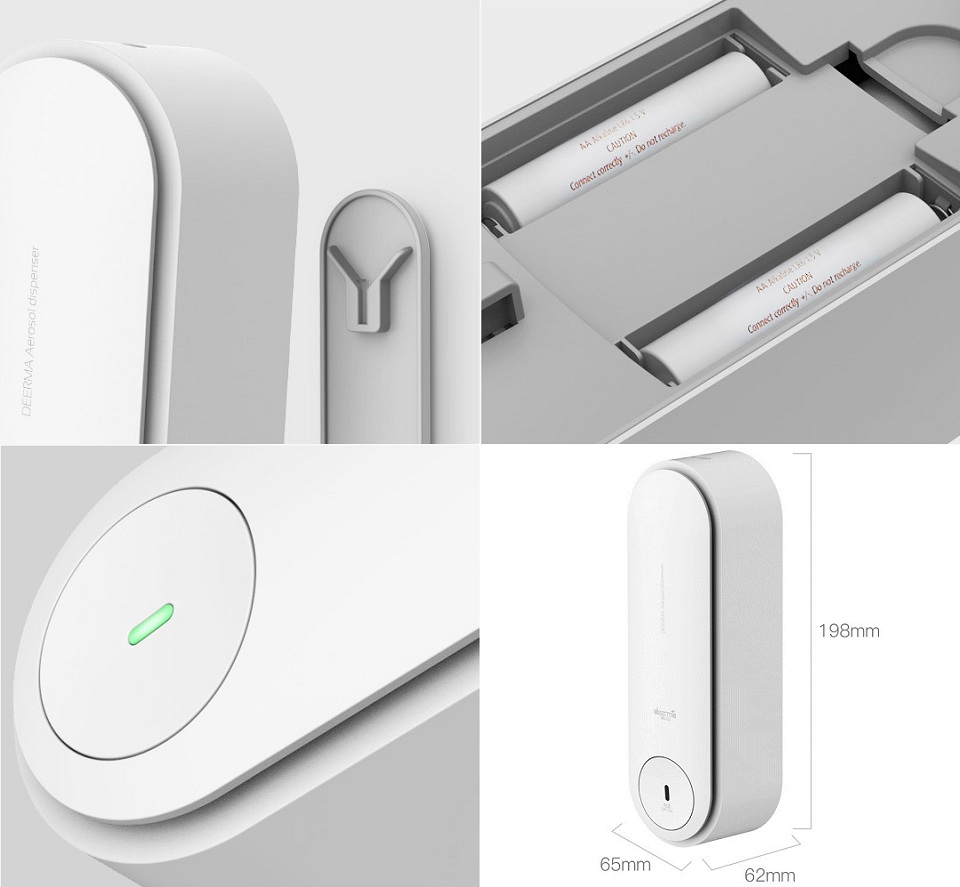 Wholesale Xiaomi Deerma Slider Automatic Aerosol Dispenser