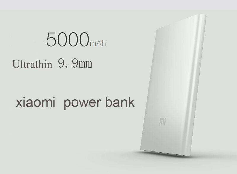 Buy Xiaomi Power bank 5000mAh Silver ORIGINAL online