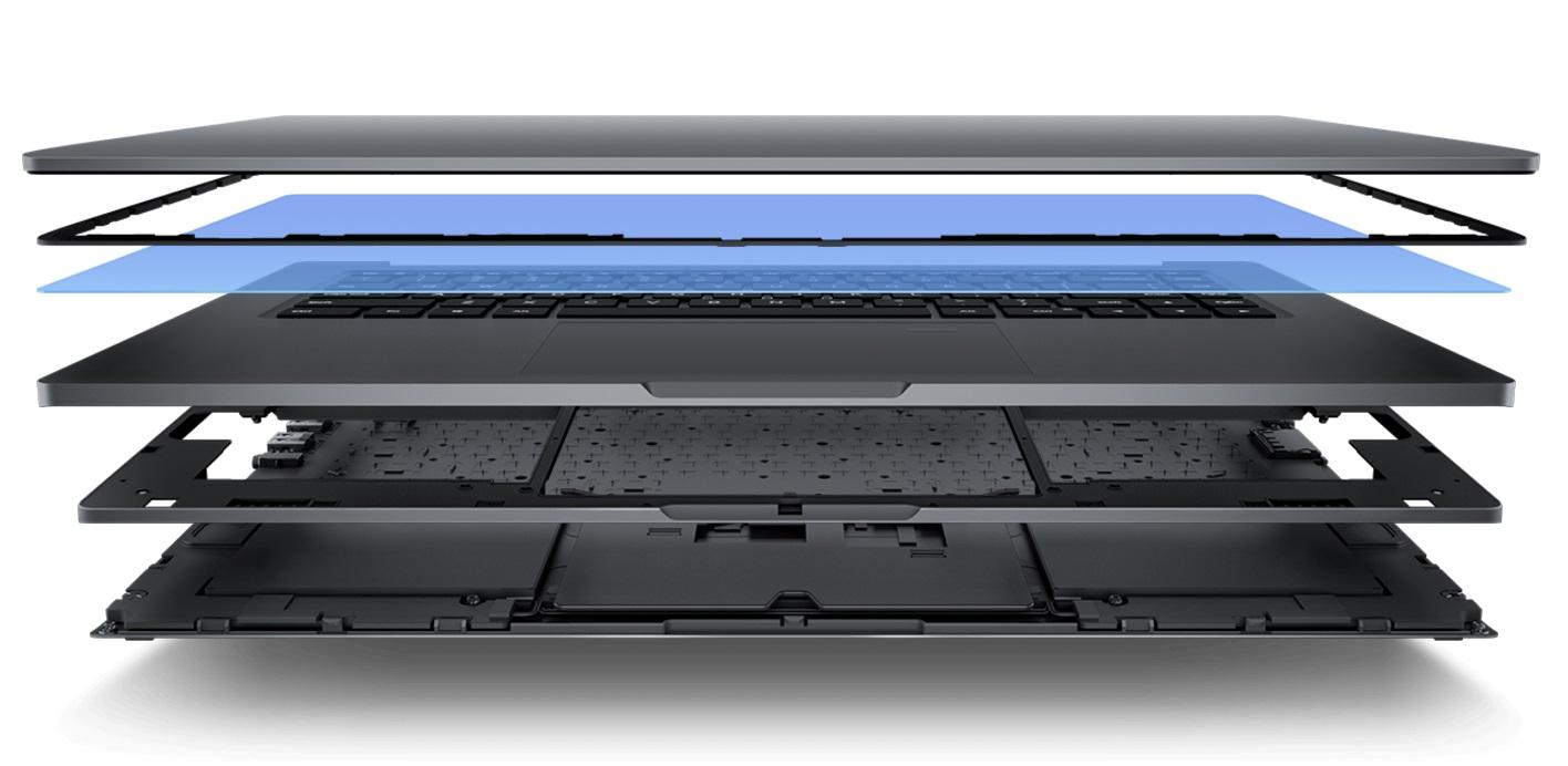 Mi Notebook Pro 15.6 Magnesium body construction