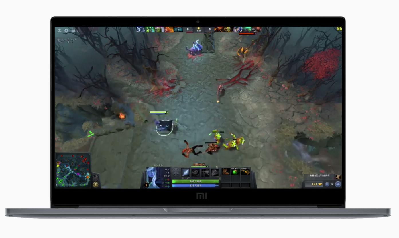 Xiaomi Mi Notebook Pro 15.6 Gameplay