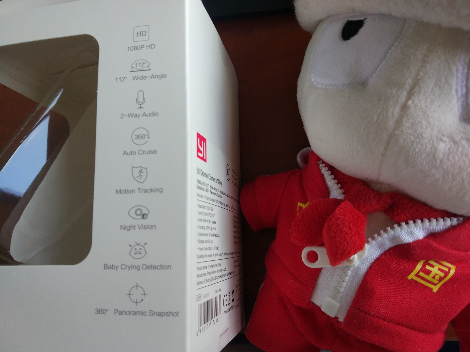 Yi 360° Home IP Camera Review - only interesting news at NIS