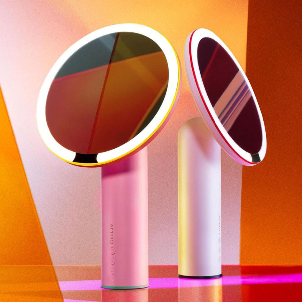 Wholesale Amiro Led Lighting Desktop Makeup Mirror O