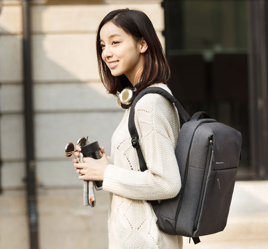 647aef9df7fc Xiaomi Mi Minimalist Urban Backpack Light Gray Price In Pakistan