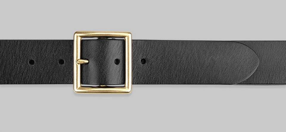QIMIAN Cow Leather Belt Photo 9
