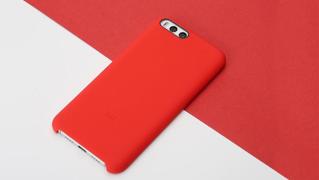 Wholesale Xiaomi Mi 6 Silicone Protective Case Red Price