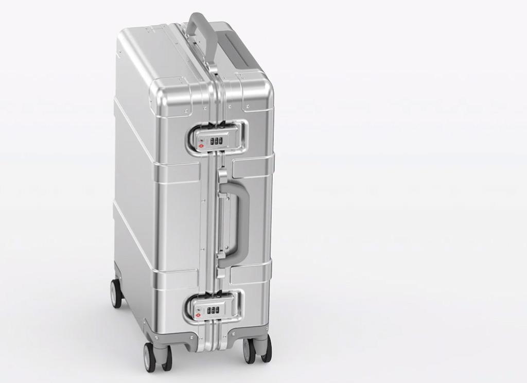 Wholesale Runmi 90 Points Smart Metal Suitcase 20 Quot Silver