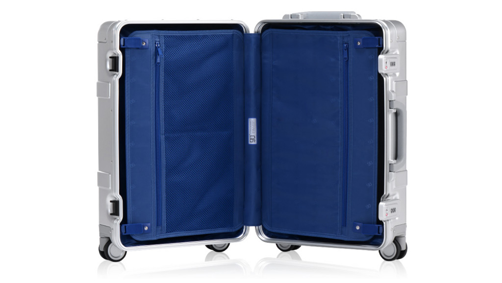 Wholesale Runmi 90 Points Metal Suitcase 20 Quot Silver Price