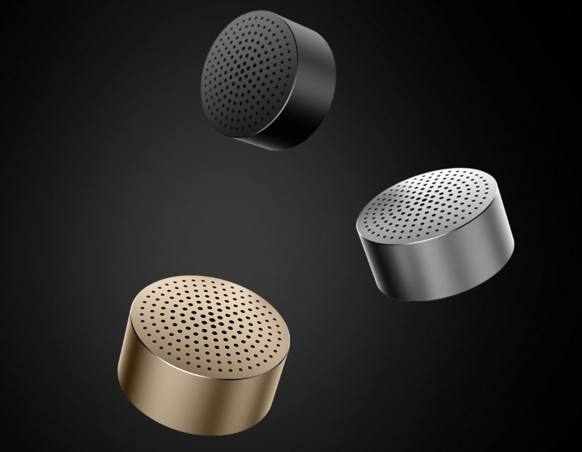 Wholesale Xiaomi Mi Portable Bluetooth Speaker Gray Price At Nis Cube You Will Be Surprised By Its Sound Power