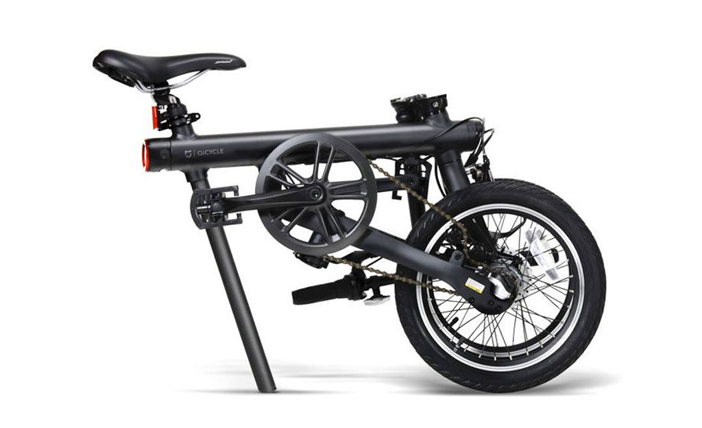 Wholesale Mijia Qicycle Folding Electric Bike Red Price At