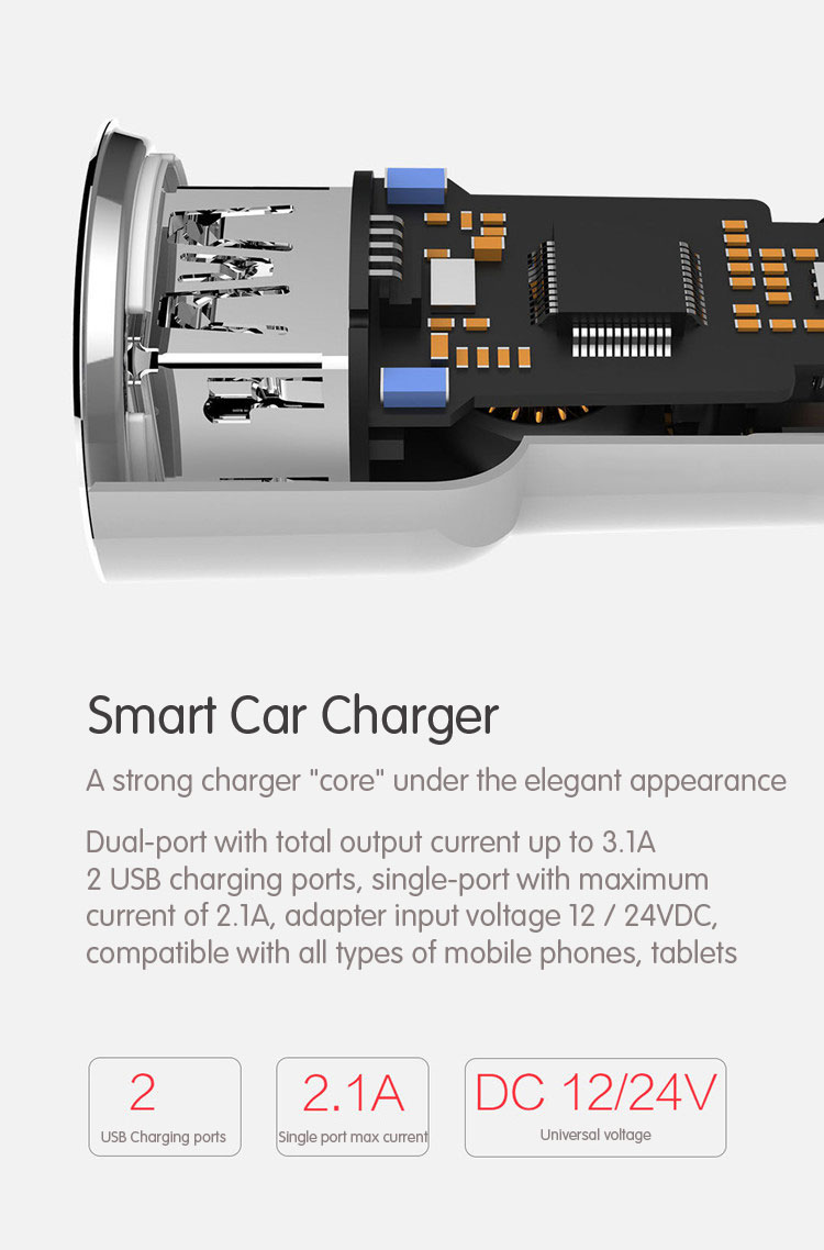 Car Battery Voltage >> Wholesale RoidMi 5 in 1 Music Bluetooth Car Charger 2S Smart Drive BFQ02RM International Ed ...