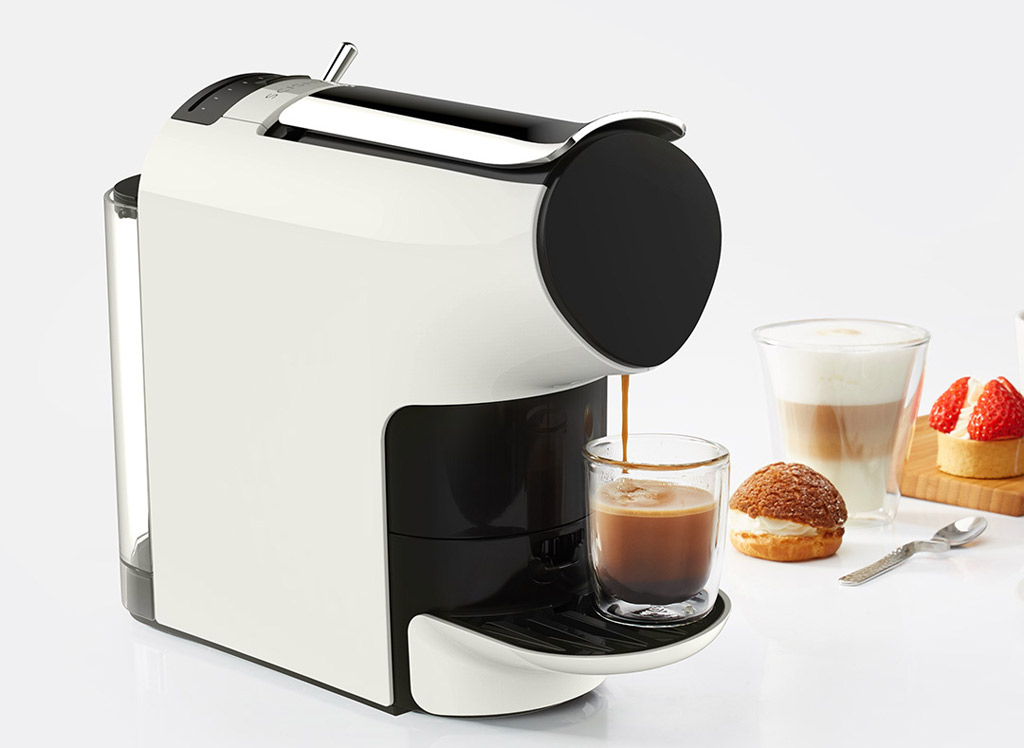 wholesale scishare capsule coffee machine white price at. Black Bedroom Furniture Sets. Home Design Ideas