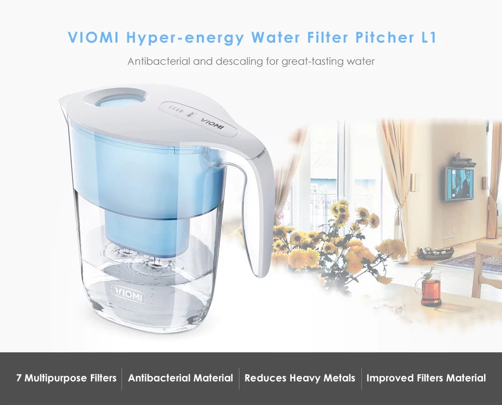 Xiaomi Viomi L1 Water Filter Kettle Standart Ed. Photo 1