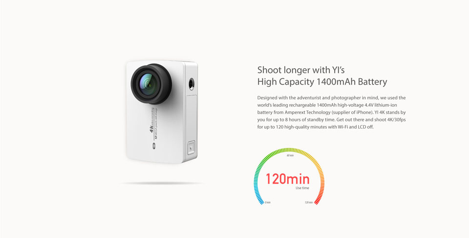 Xiaomi Yi 4K Action Camera - Ready Stock!