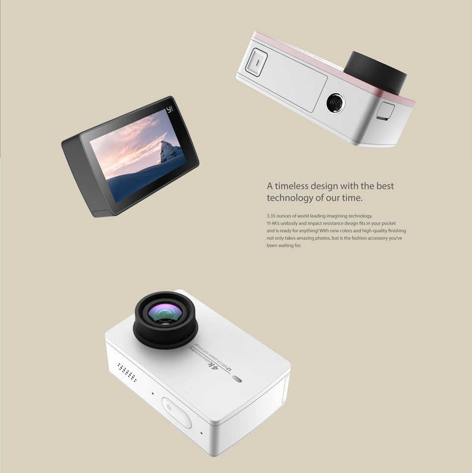 directd online store xiaomi yi 4k action camera ready. Black Bedroom Furniture Sets. Home Design Ideas