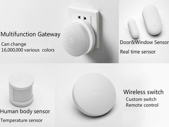 xiaomi mi smart home kit reviews price buy at nis. Black Bedroom Furniture Sets. Home Design Ideas